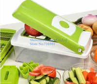 Nicer Dicer Multifunctional Chopping Device 12 Set Nice Dicer Plus For Kitchen Cooking Tool AS SEEN ON TV