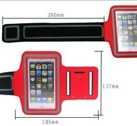 2014 free shipping sport gym jogging running arm band armband case bag for iphone 5 5s 5c 4g 4s ipod touch 4g