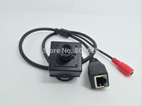 Super Mini  HD Box P2P Network Camera with Dual Stream Cloud Server & Fish-eyes lenz ONVIF standard & IP65 & Free Drop Shipping
