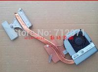 new laptop heatpipe cooler fan for Dell inspiron 15R N5010 CPU Heatsink Fan DP/N:0NC4TX Thermal Module copper tube
