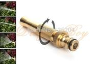 Brass Garden Water Guns spray nozzle car washer washing gun flower cleaning Adjustable Nozzle Garden Irrigation sprinkler