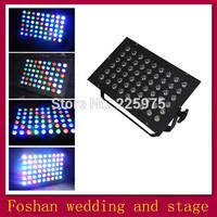 Free shipping 54pcs led par light,christmas outdoor par lighting,led par64 lighting