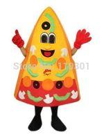 2014 Christmas Pizza Man Cartoon Mascot Costume Halloween Fursuit Fancy Dress Mascot Costume