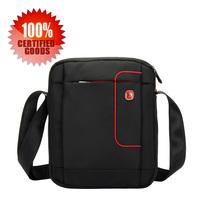 Swiss Gear Pegasus quality goods - men black functional shuoldr bag - practical briefcase bag