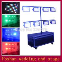 Free shipping 8pcs/Lot,512dmx control Cast light,chauvet led par 64,OEM factory par cans lamp