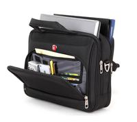 Free shipping Swiss Gear Brief Case / multifunction laptop bag Roller or Shoulder