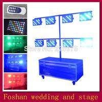 Free shipping 8pcs/Lot,stage led outdoor par lamp,led lighting par kit,led flat par can light