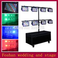 Free shipping 8pcs/Lot,led star effect stage lighting,led american dj par light,led spotlight dmx control