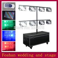 Free shipping 8pcs/Lot,512dmx led par can lamp,par led wedding decorations wireless control,stage led lighting