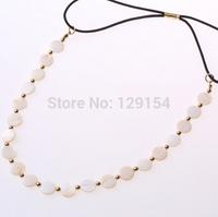 Wholesale Korean Brand Bohemian Shell Gold Beads Vintage Wedding Headband Hair Accessories for Women