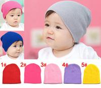 New arrival 1 piece cotton Elastic Boy/Girl Baby Caps+3-18 Months, covering pullover Children outdoor cap,Kids newborn Hat