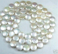 HUGE 36''12-15MM NATURAL SOUTH SEA GENUINE WHITE PEARL NECKLACE ROUND