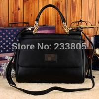 NEW 2014 Autumn and winter desigual bag Cowhide Casual Women bag women messenger bags women handbag bolsas