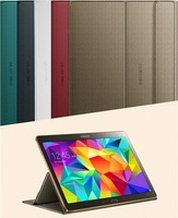 2015 New Arrive high quality original official Ultra Slim Thin Leather Case For Samsung Galaxy Tab S 10.5 T800 T805C Smart Sleep