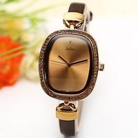2014 New Luxury Fashion Brand Julius Women Dress Watches Korea Design Waterproof Genuine Leather Strap Quartz WristWatch