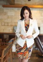 6266 2014 autumn slim fashion suit blazer jacket
