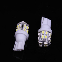 Free Shipping 2014 new T10 20 SMD White W5W 194 168 501 Car led Inverted Side Wedge Light 12V Auto Interior Packing Car Styling