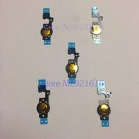 200Pcs/Lot OEM Original Quality Home Menu Button Keypad Flex Cable Repair Part for iPhone 5C Wholesale Free Shipping DHL Fedex
