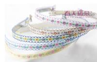 Free Shipping!2014 New 20pcs/lot Women Headwear Flower Pattern Headband Ladies Hairband Girl's Hair Accessories