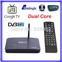 CS818II DVB-T2 Amologic 8726-MX Dual Core Android 4.2 Smart TV BOX HDMI WIFI RAM 1GB ROM 8GB DVB T2 TV Receicer XBMC Bluetooth
