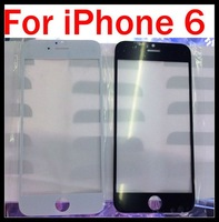 Touch Screen Front Glass outer glass Lens for iPhone6 6G 4.7inch Black and White freeshiping by DHL