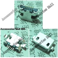 A1 Free shipping 100xNew DC Power Jack Micro USB  Port Plug Socket for netbook/  tablet pc/mobile/Millet Phone/mp4/mp5 5pin