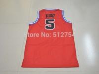 #5 Jason Kidd Jersey,Rev 30 Throwback Basketball Jersey,Best quality,Authentic Jersey,Size S--XXXL,Accept Mix Order