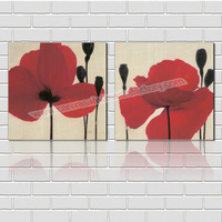 Modern Home Decor Canvas Wall Paintings of Flower for Living Room Decoration Canvas Prints Artwork--Wall Art Decorative Painting