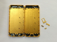 Gold color Replacement part Full Housing Back Battery Cover Middle Frame For iphone 5S 5GS Free shipping