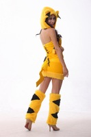 2014 BS-29Foreign trade clothing Christmas Halloween Pikachu plush animal role-play equipment fitted costumes