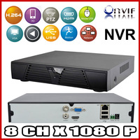 New 8 Channel HDMI Full CCTV NVR 8CH 1080P H.264 Network Video Recorder Support ONVIF 2.0 system for IP camera Mobile Phone View