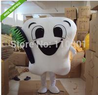 Hot Christmas Tooth Dentist Cartoon Mascot Costume Halloween Fursuit Fancy Dress Mascot Costume
