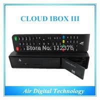 Best offer 3pcs original cloud ibox 3 twin tuner DVB-S2 Hybrid DVB-T2/T/C best smart linux tv box in stock now