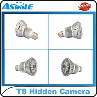 New T8 H.264 Bulb Type DVR CCTV Camera Video Recorder For Home Security Monitor With Night Vision Mini Hidden Camcorder Camera