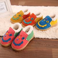Winter Boots 2014 Hot Children's Cotton shoes Cartoon snow boots Antiskid waterproof baby sneakers