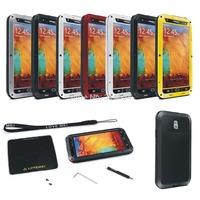 Outdoor Partner Love Mei Waterproof Dustproof Shockproof Aluminum Metal Powerful Phone Protection Case For Galaxy Note3 N9000