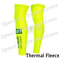 saxo bank Tinkoff 2014 Thermal Fleece Cycling Warmer leg sleeves cycling jersey Ropa Ciclismo bicycle leg warmers bicicleta MTB