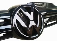 Volkswagen VW Golf MK6 Front and Rear Badge Emblem Set Gloss Black