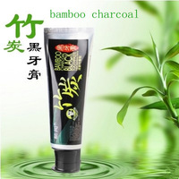 Free Shipping Black Bamboo Charcoal Toothpaste 60g Teeth Whitening Brightening odor removal Fresh Bleeding Gums Teeth Stains
