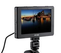 Viltrox 7'' 1280x800 DC-70 Clip-on Color TFT LCD Monitor HDMI AV Input for DSLR Camera