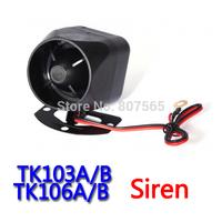 Haut-parleur / Siren Car Vehicle GPS Tracker Accessory Car Alarm For TK103B,TK106B and GPS107