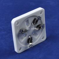 2PCS Ceramic Tube socket