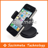 Free shipping Universal Car Holder 360 Degree Turn Around for Mobile phone 20pcs/lot Wholesale