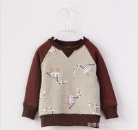 Baby boy sweater jacket gray long sleeve full printed zebra sweater jacket kids boys jacket children sweater jackets 5pcs/lot