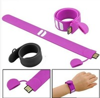 100% Real capacity Quality Guarantee!!!  PaPa Band/Wristband  band usb flash drive 8GB 4GB 50pcs/lot Free shipping