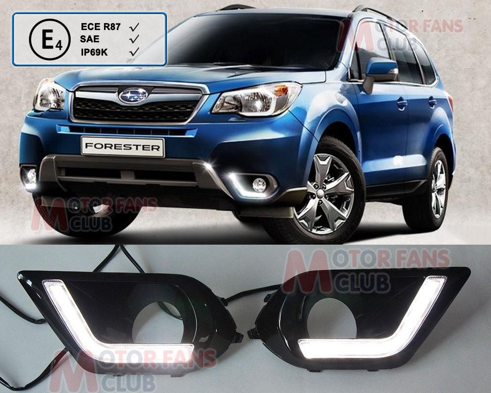 Дневные ходовые огни MHT Subaru Forester дневные ходовые огни hyundai 2pcs set 15w 12v 6000k