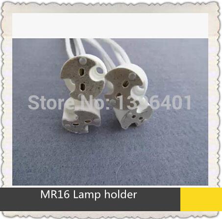 100pcs/lots Mr16 lamp base g4g5.3gu5 . 3g 6.35mr11 led spotlight mr16 ceramic lamp downlight fitting accessories(China (Mainland))