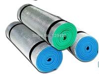 Free Shipping Outdoor camping mats, aluminum film EVA foam pad single portable moisture crawling mat 1.8X0.5M