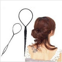 Pattern Portable Hair Maker Twinset Instructions Hair Needle Hair Styling Tools 2Pcs a Set
