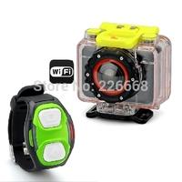 1080p, Wi-Fi, Wrist Strap Remote, Mobile App, 170 Degree Lens, IP68 Sports Camera